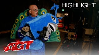 Howie in a Peacock costume?! The Best Prank of the Season - America's Got Talent 2020