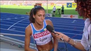Daniela Reina sugli 800 ai Mondiali