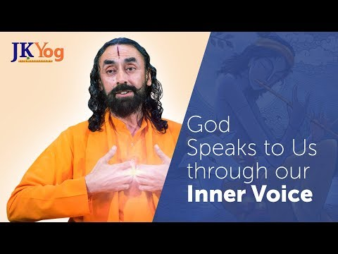 Learn How God Speaks to Us - Listen to Your Inner Voice or Conscience | Swami Mukundananda