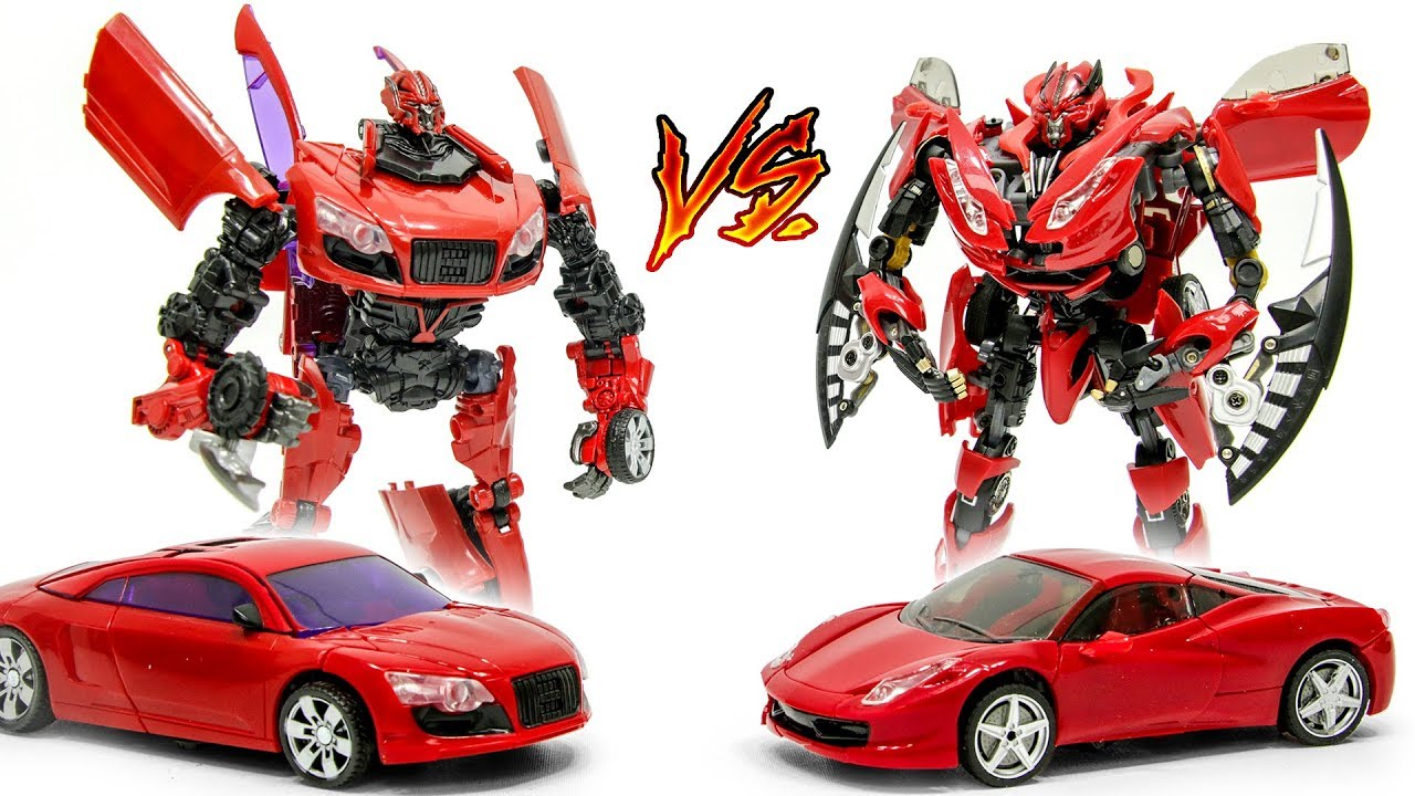 transformers 3 dotm takara dino audi r8 vs alien attack