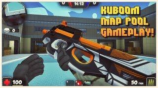 "KUBOOM | Map ""Pool"" | Gameplay! 😃"
