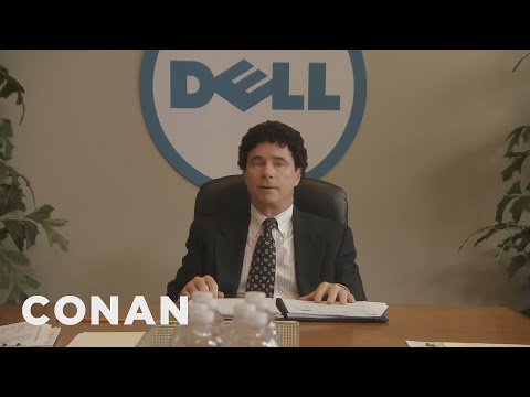 "Forget ""Steve Jobs,"" Get Ready For ""Michael Dell""  - CONAN on TBS"