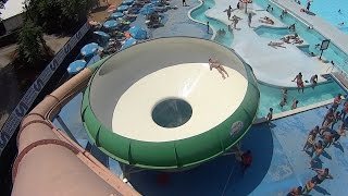 Onion Water Slide at Acquatica Park