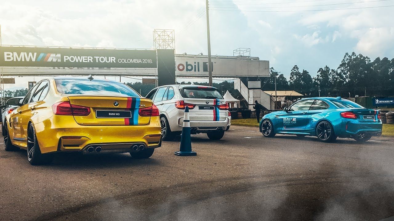 Del M2 al M4 30 JAHRE, estas son las BESTIAS del BMW M POWER TOUR 2018