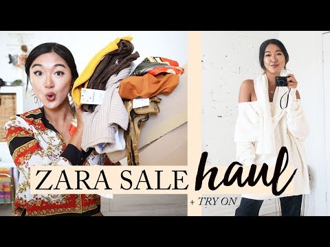 ZARA WINTER SALE HAUL & TRY ON: What I Got For $500 (17 Items)