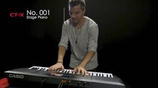 Касіо КТ-Х5000 звуки демки