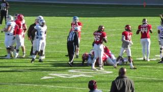 Mississippi All Star`s Moving The Ball On Team Alabama In Montgomery At The Cramton Bowl