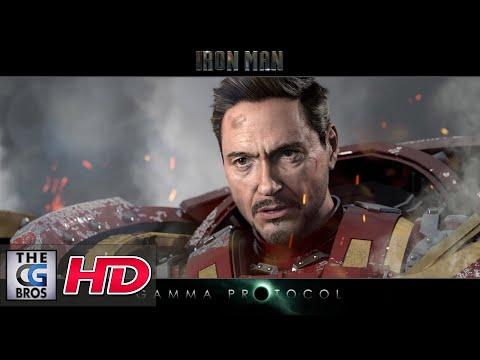 "CGI VFX Breakdowns : ""Iron Man Gamma Protocol: Example 01"" - by Anthony Mcgrath"