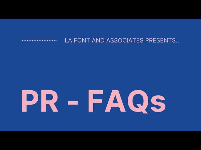SHOULD ALL ORGANIZATIONS HAVE A PR (PUBLIC RELATIONS) DEPARTMENT?