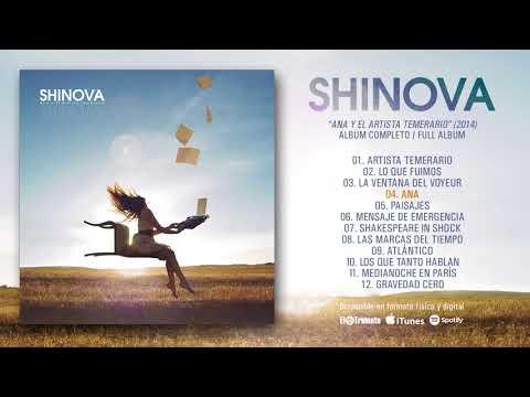 """SHINOVA """"Ana Y El Artista Temerario"""" (Álbum Completo)"""