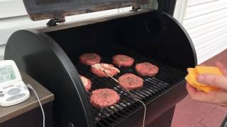 How Cook Hamburgers Traeger Without Flipping Them