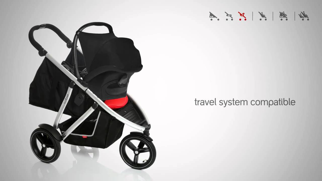 Phil And Teds Double Buggy Vibe Phil Teds Inline Vibe Stroller Wmv