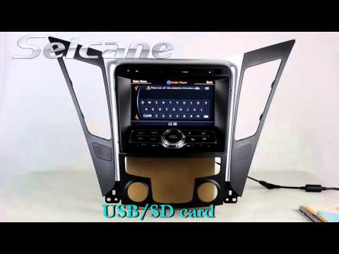 Hd Touch Screen 2011 2012 Hyundai Sonata I40 I45 Dvd Gps