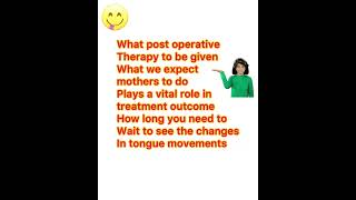 Why posterior tongue tie is one of the most misdiagnosed or over diagnosed now a days