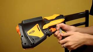How to: The Nerf Speedload 6 Mod Guide (AR removal, seal improved, Release holes sealed)
