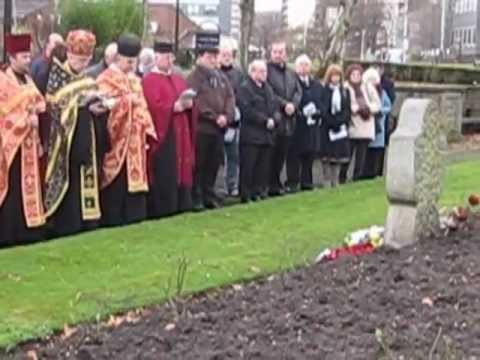 Holodomor - Ukrainian Genocide.  Commemorating the 79th Anniversary in Rochdale, United Kingdom
