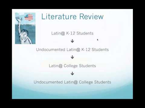 Webinar: Understanding Key Issues for Serving Undocumented Latino/a Students