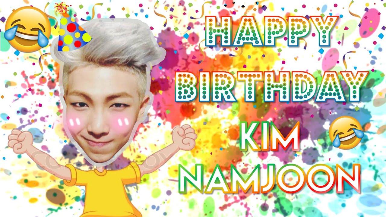 HAPPY BIRTHDAY KIM NAMJOON