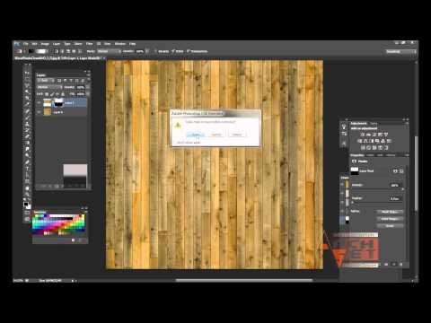 Как сделать текстуру в Photoshop  Как сделать бесшовную текстуру деревянных планок