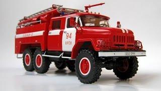 Зібрана модель АЦ-40 (ЗІЛ-131) SSM 1:43
