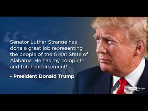 Radio Ad: President Trump Endorses Luther Strange