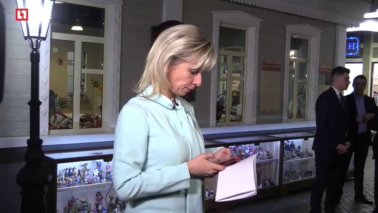 Мария Захарова даёт урок дипломатии