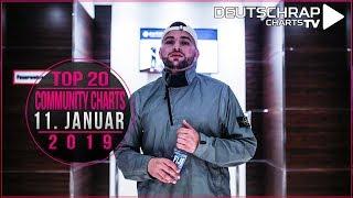 TOP 20 Deutschrap COMMUNITY CHARTS | 11. Januar 2019