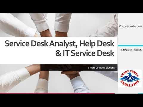 Service Desk Analyst Training/Course  Intro – 1