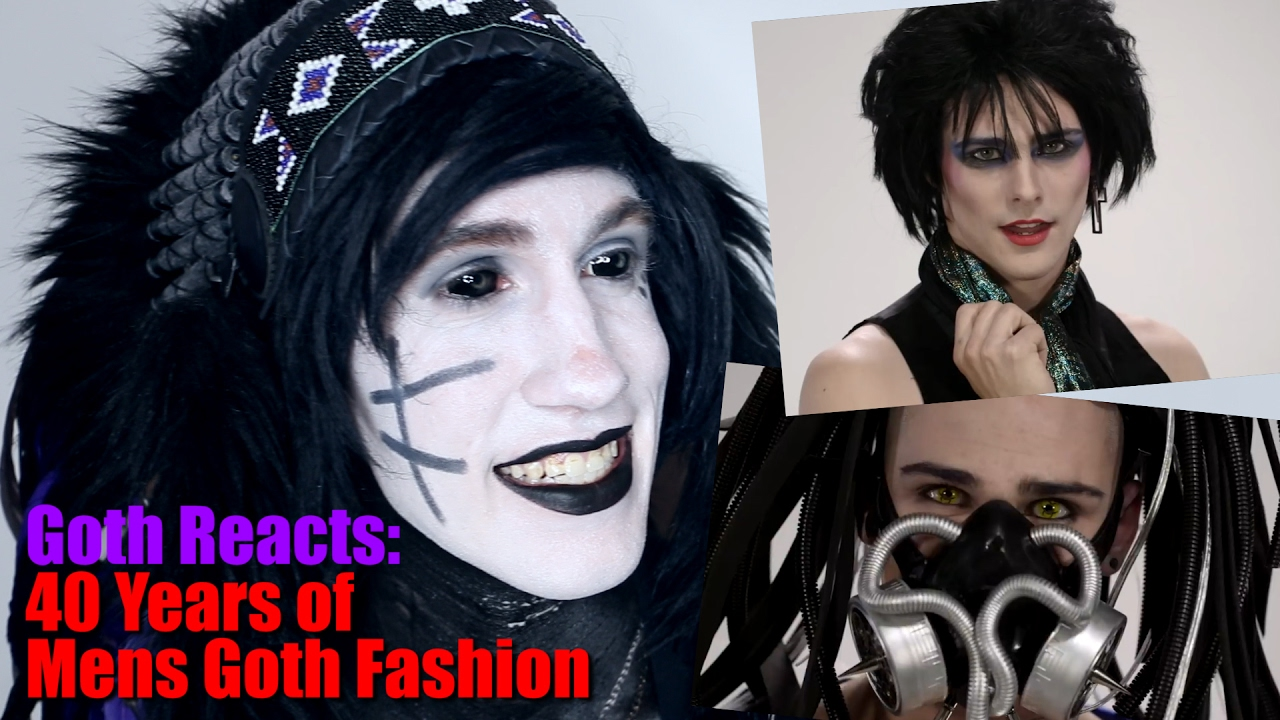 Goth Reacts To 40 Years Of Mens Style In Under 5 Minutes