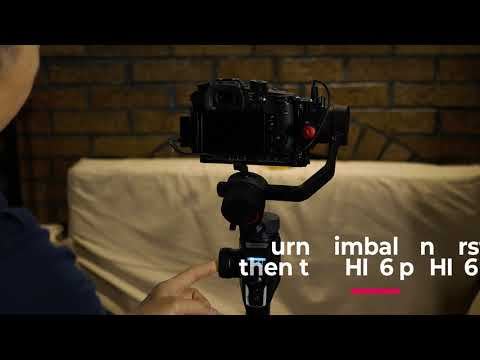 Controlling GH5 Or GH5s With The Moza AirCross 2