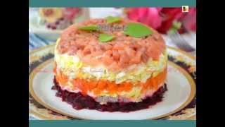 Рецепт салата  Салат Семга на шубе