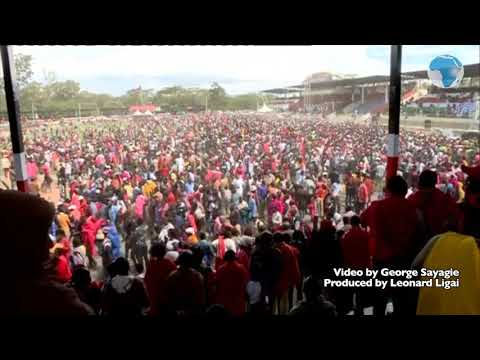 Three people injured and rushed to Narok Referral Hospital after a stampede at Narok stadium