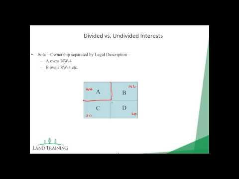 Mineral Interest Conveyances