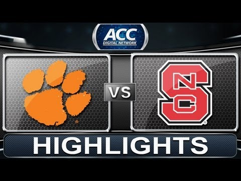 2013 ACC Football Highlights | Clemson vs NC State | ACCDigitalNetwork