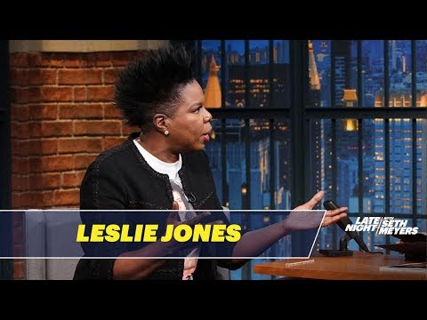 Leslie Jones Almost Vomited on SNL