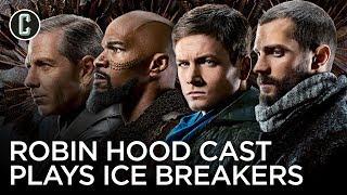 "Robin Hood Cast Plays ""Ice Breakers"""