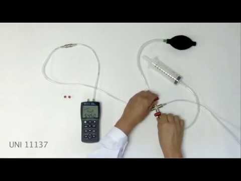 Micromanometro Pressotest 200 - Prova di tenuta UNI 11137