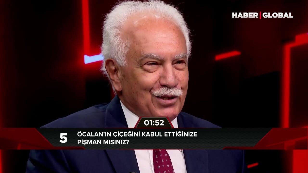 Doğu Perinçek: 7 Milyar İnsan Aleyhimde Tweet Atsa Abdullah Öcalan'ın Uzattığı Çiçeği Yine Alırım