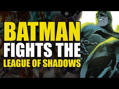 Batman vs The League of Shadows (Detective Comics Vol 4: League Of Shadows)