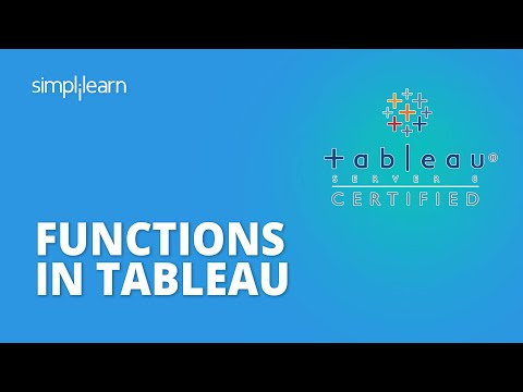 Tableau Functions: Your One-Stop Solution for All the Functions in Tableau
