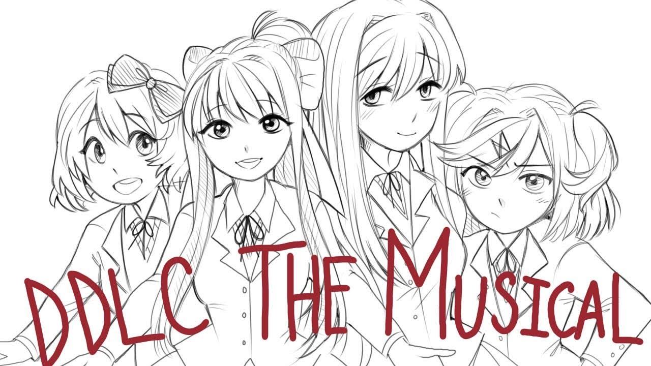If Doki Doki Literature Club Was A Musical Animatic