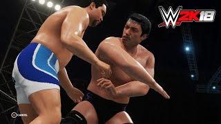 WWE 2K18 PC版で作成しました。