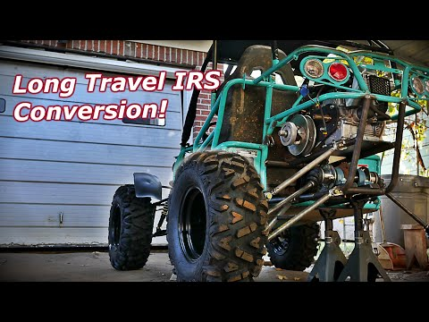 50hp 670cc Offroad Buggy Gets IRS Long Travel!