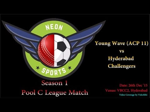 Neon Sports Season 1 Pool C League Match | Hyderabad Challengers vs Young Wave (ACP 11)