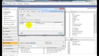 Microsoft Dynamics GP - How to Suggest Sales Items