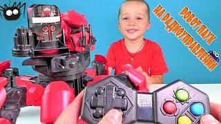 Мега гигантский паук монстр на радиоуправлении распаковка игрушки DOOM RAZOR Великий паук