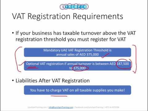 GCC/UAE VAT Online Training