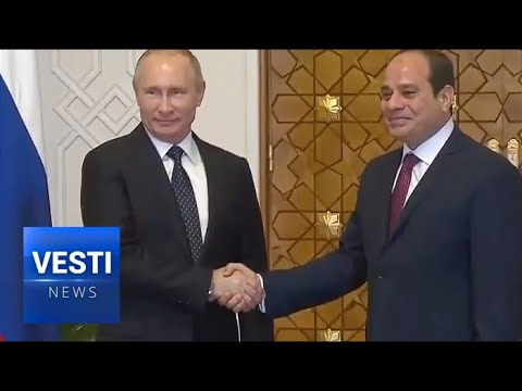 After Liberating Syria Putin Makes a Record Breaking Billion Dollar Nuclear Energy Deal in Cairo