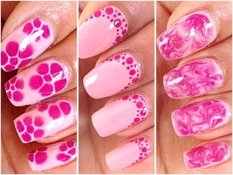 3 easy and quick nail art for beginners youtube 3 easy and quick nail art for beginners prinsesfo Image collections