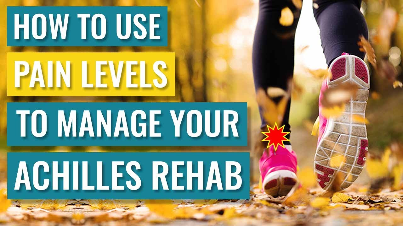 How To Use Pain Levels To Manage Your Achilles Rehab - YouTube